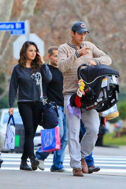 La pareja de famosos recién se estrenaron como padres.