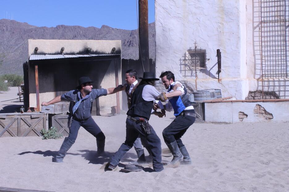 En fotos: Un recorrido por los estudios de cine del viejo oeste 'Old Tuc...