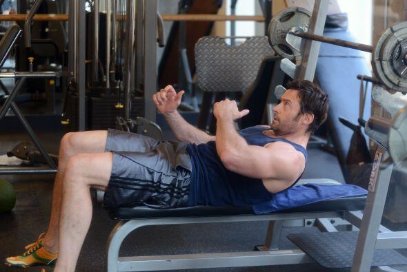 Pero el rey de gimnasio es sin duda Hugh Jackman. Más videos de Chismes...