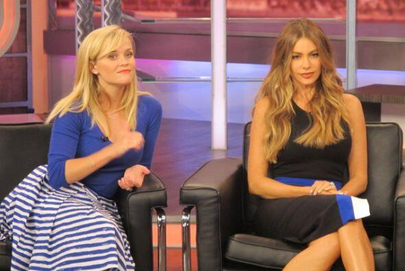 Sofía Vergara y Reese Witherspoon estuvieron en El Gordo y la Flaca para...