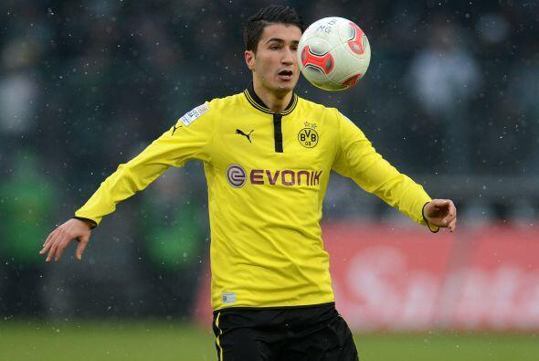 El Borussia Dortmund vio cómo el turco Nuri Sahin se echó al equipo a lo...