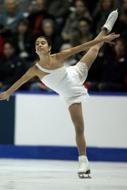Alissa Czisny de los EU.
