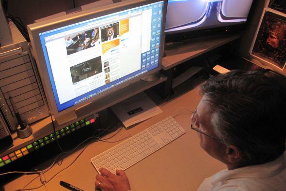 Domínguez también revisó varios videos de archivo de las fuerzas especia...