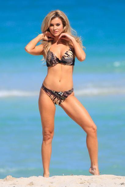 Mira más candentes imágenes de Joanna Krupa.   Más...