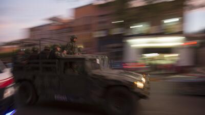 Soldados mexicanos. (Imagen de Archivo).