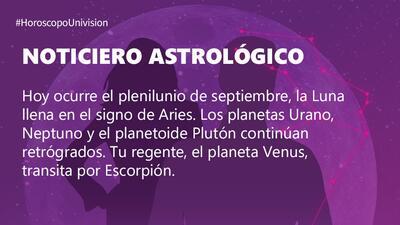 Libra – Martes 25 de septiembre de l 2018: el plenilunio anuncia una etapa muy próspera