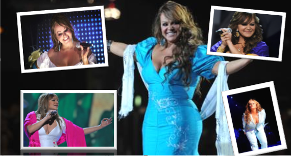 Las divertidas y pícaras frases de Jenni Rivera en el escenario