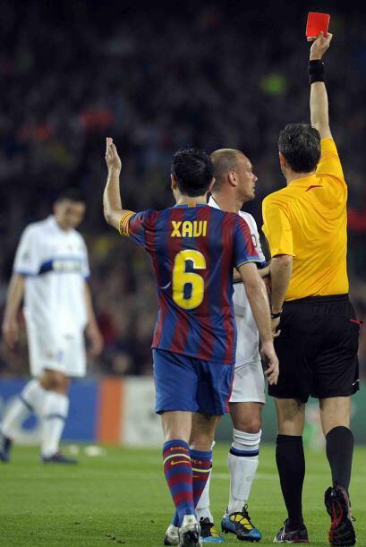 Motta se ganó la tarjeta roja y dejó en inferioridad numérica a los visi...