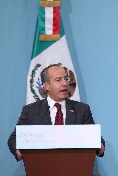 El presidente de México Felipe Calderón llamó &quot...