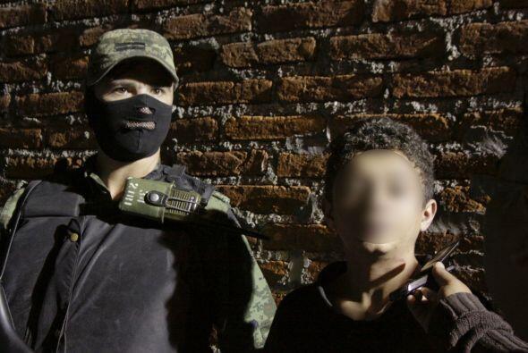El menor fue detenido en 2010 y reconoció ser integrante del Cártel del...