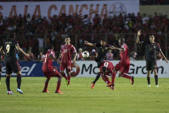 El marcador final fue Panamá 0-0 México en un momento donde el Tri reque...