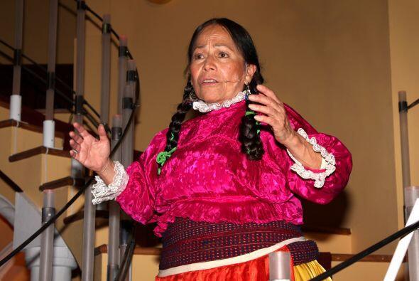 Con la India María, realmente María Elena Velasco fue la única comediant...