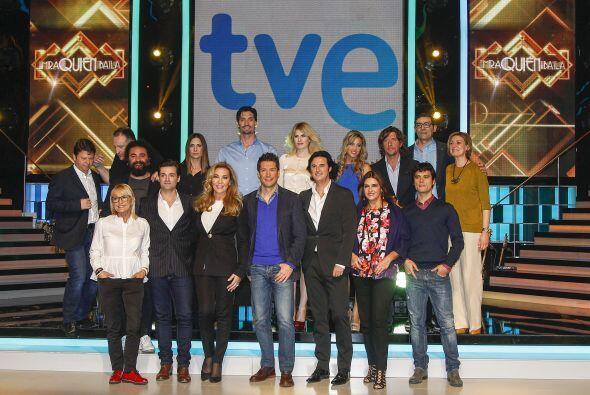 Acompañan a Colate, estrellas españolas como Marina Danko, Adriana Abeni...