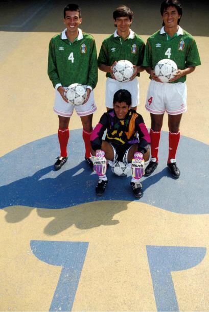 Además, aquel grupo fue la base de la Selección Mexicana d...