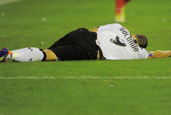 Y qué nos dicen de Roberto Soldado del Valencia, que incluso se tomó el...
