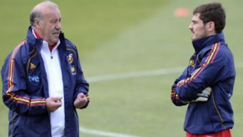 Del Bosque ha respaldado a Casillas en todo momento.