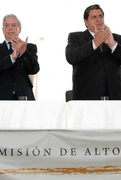 Antes adversarios políticos, Vargas Llosa y Alan García unieron esfuerzo...