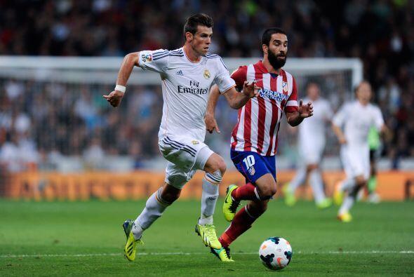 Finalmente Gareth Bale debutó en el Bernabéu en sustitución de Isco