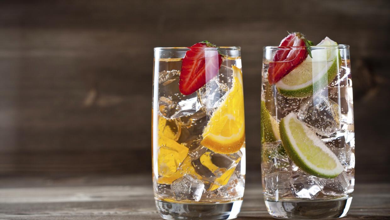 Agua con fruta