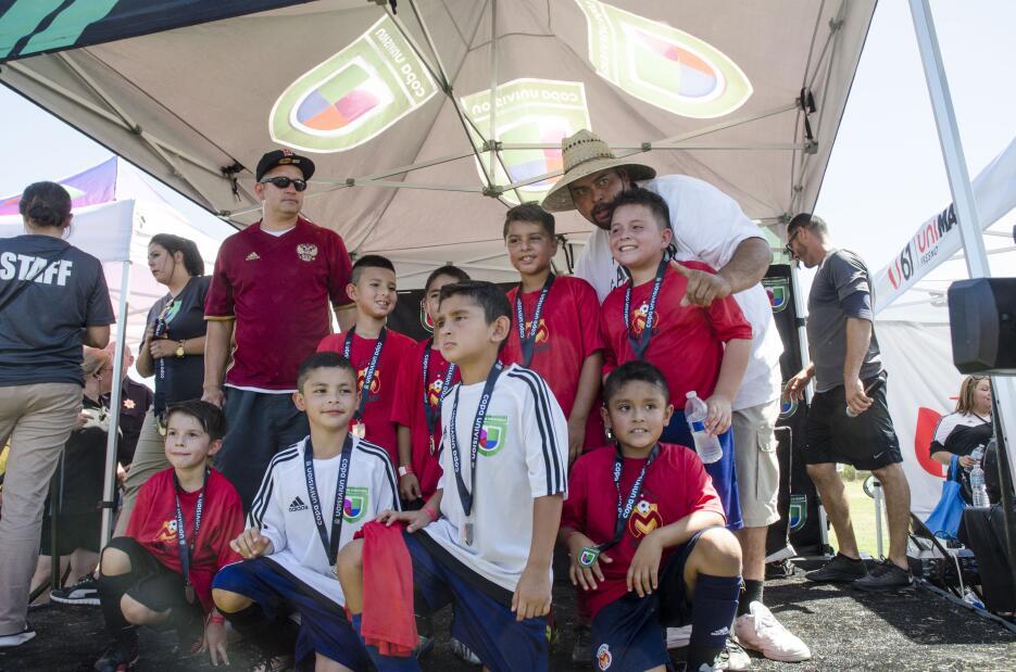 Diversión familiar en Copa Univision Fresno.