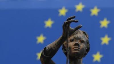 La última recesión de la Unión Monetaria se remonta a 2009, cuando sufri...