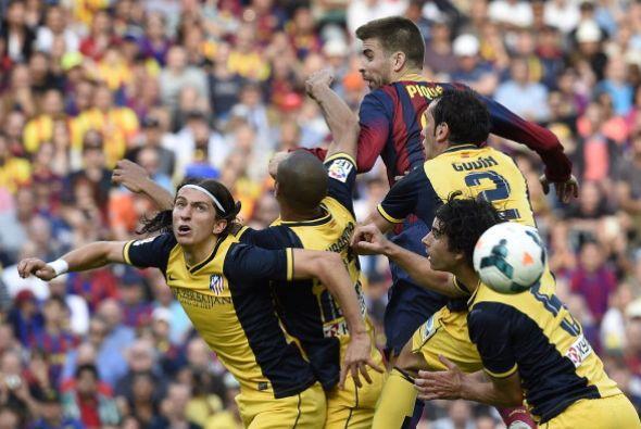 El Barcelona necesitaba ganar para igualar en puntos al Atlético y coron...