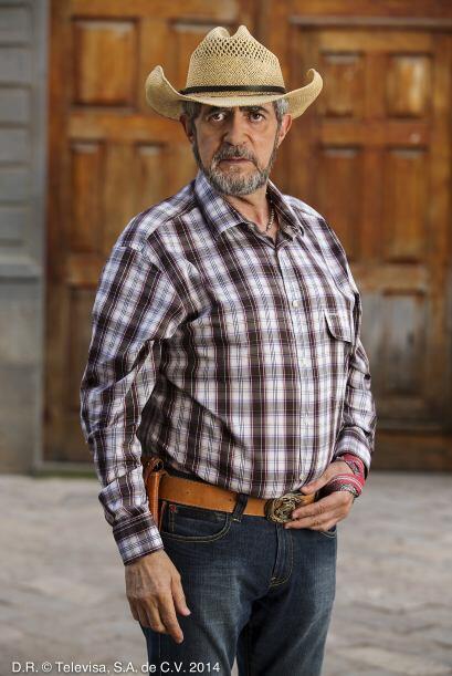 """'Flaco' Ibáñez es """"Melesio Otero"""". Es el esposo de """"Dominga"""". A pesar de..."""