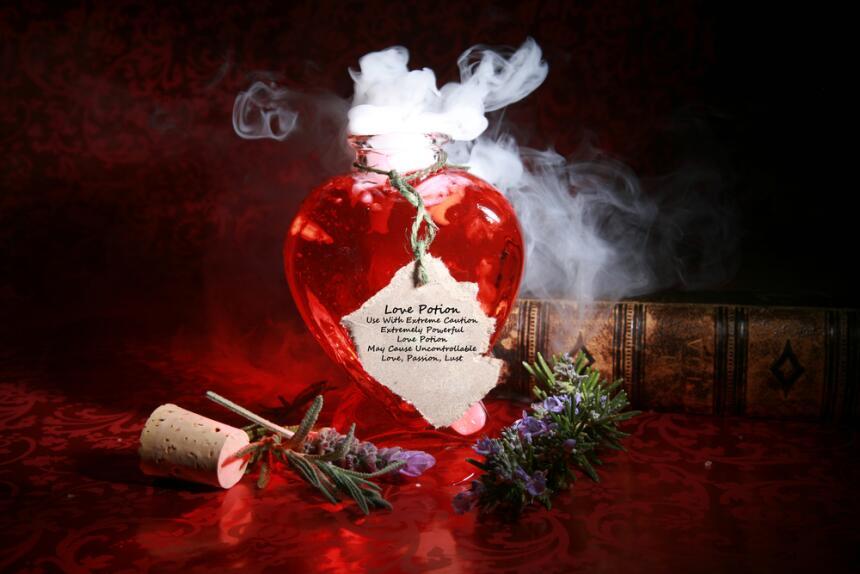 poción ritual hechizo de amor