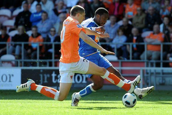 Wigan y Blackpool jugaron un partido 'aparte'. Los dos conjuntos luchan...