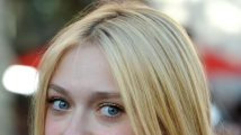 Joven y talentosa, dos grandes cualidades de la actriz Dakota Fanning.