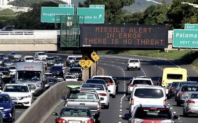 La alerta de misil balístico contra Hawaii fue una falsa alarma:...