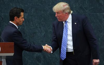 Filtran transcripción en la que Trump amenaza a Peña Nieto con enviarle...