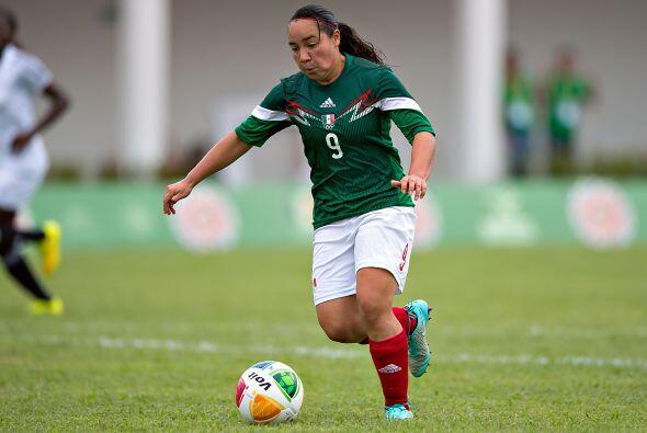 Con cuatro tantos de Charlyn Corral, el seleccionado femenil mexicano de...