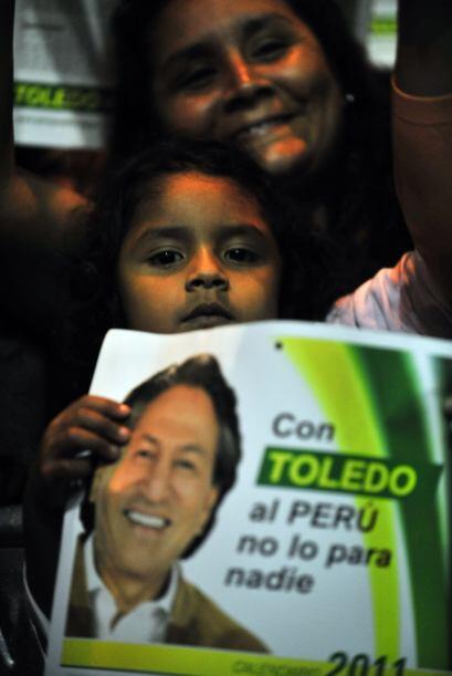 Cuando Toledo anunció su candidatura, en noviembre, empezó un ascenso qu...