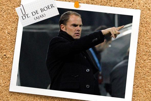 Todas estas figiras son dirigidas por Frank De Boer, uno de los nuevos t...