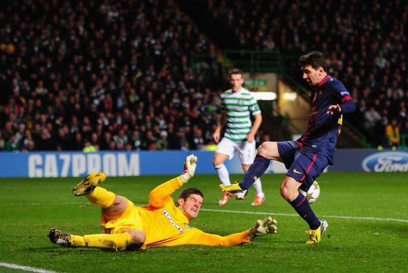 El portero del Celtic se erigió como figura para que su equipo sacara un...