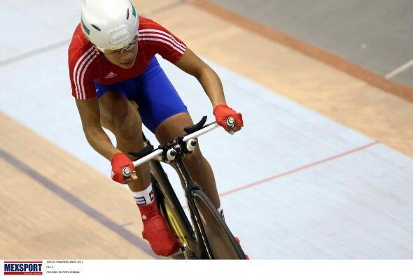 La velocista cubana Marlies Mejías ganó la medalla de oro...