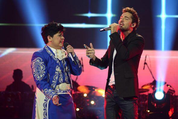 David Bisbal y Stephanie Guzmán a dueto.