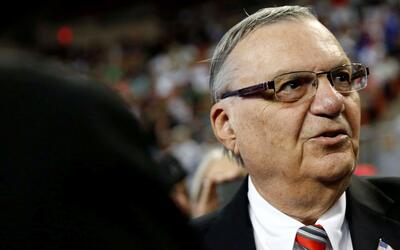 Trump pardons former sheriff Joe Arpaio; here is Joe face to face with J...