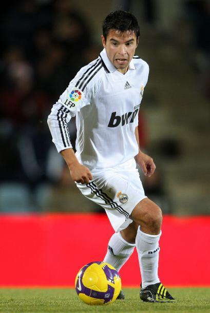 En su paso por el equipo blanco el 'Conejito' sólo anotó cinco goles y a...