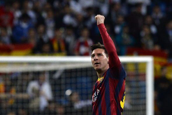 Se escuchaba el silbatazo final y Messi, como ya lo había hecho en otros...