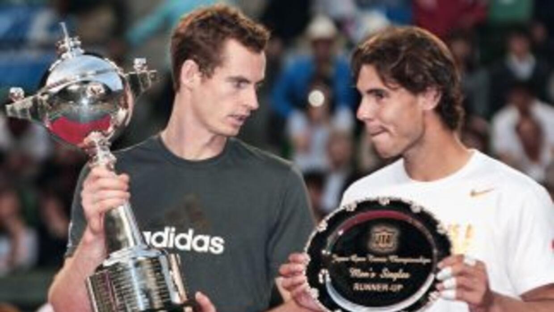 Murray, número cuatro de la ATP, supo imponerse a Nadal, el número dos m...