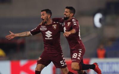 Torino con gol de Tomás Rincón venció a la Lazio
