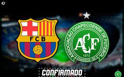 Barcelona vs. Chapecoense