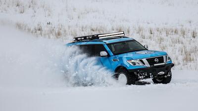 Nissan Armada Snow Patrol, extrema e ideal para la nieve