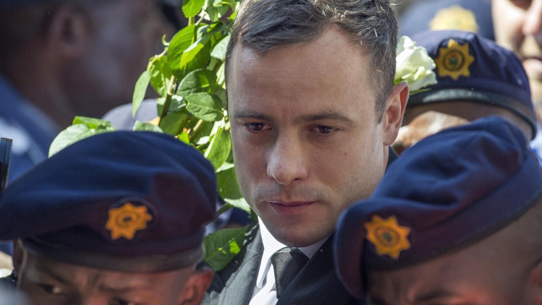 Oscar Pistorius, atleta paralímpico, en el juicio de apelación