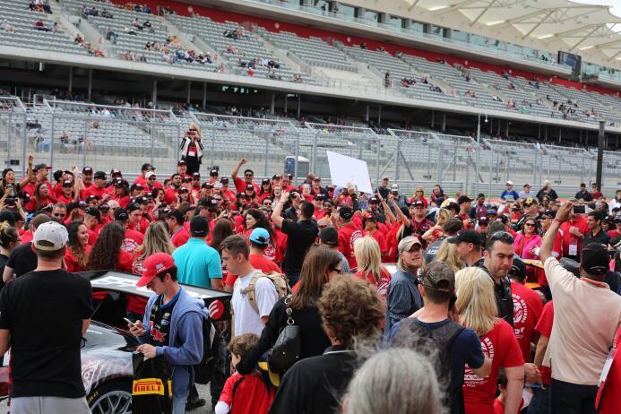 Miles de personas disfrutaron este fin de semana del Pirelli World Chall...