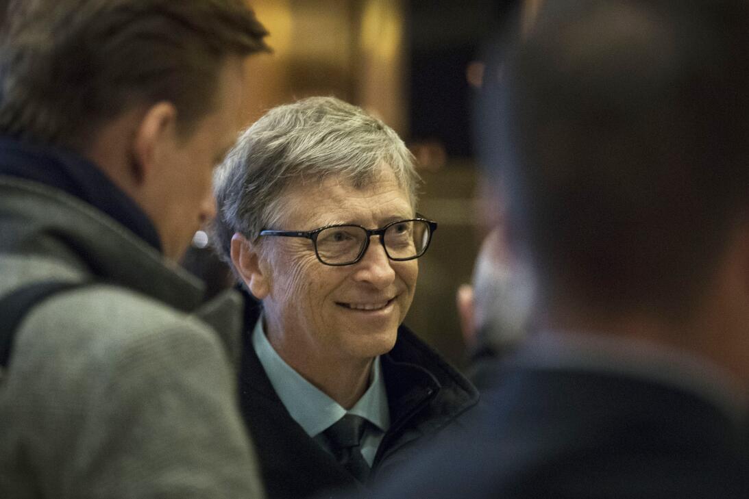 #1: Bill Gates, cofundador de Microsoft. Fortuna estimada: 75,000 millon...