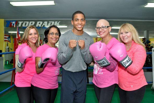 'El Diamante' del boxeo puertorriqueño compartió y entrenó junto a varia...