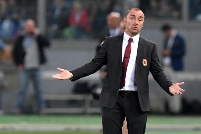 Otro interinato fue el de Cristian Brocchi dirigiendo en siete partidos...